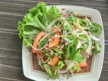 Mung Bean Noodle Spicy Salad fotos de stock
