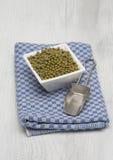 Mung bean, Vigna radiata. Also Jerusalem bean, mung dal Royalty Free Stock Photography