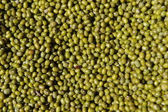 Mung Beans. Offered at a market place in China Royalty Free Stock Photos