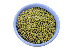 Mung Beans in Bowl Stock Images