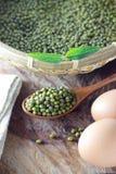 Mung beans Stock Photography