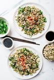 Mung beans sprouts spicy salad Royalty Free Stock Image