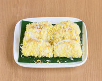 Mung de boon rijst-omfloerst Royalty-vrije Stock Foto's