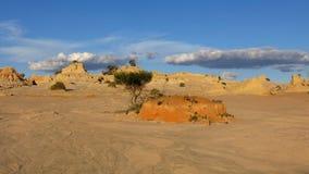 Mungo nationaal park, NSW, Australië Stock Fotografie
