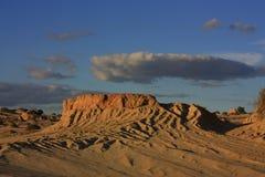 Mungo nationaal park, NSW, Australië Royalty-vrije Stock Foto