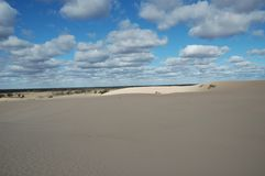 Mungo National Park Royalty Free Stock Photos