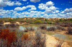 Mungo National Park, Austrália Foto de Stock Royalty Free