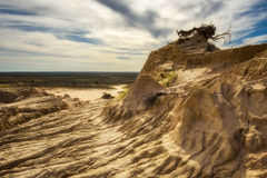 Mungo National Park, Australia Fotografia Stock Libera da Diritti