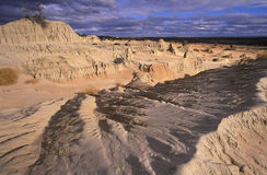 Mungo national park. In the far west of New South Wales Stock Images