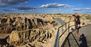 Mungo national park, NSW, Australia Stock Images