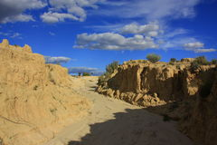 Mungo national park, NSW, Australia Stock Photo
