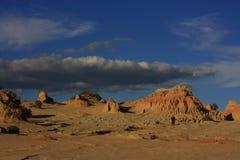 Mungo national park, NSW, Australia Royalty Free Stock Photos