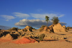 Mungo national park, NSW, Australia stock image