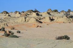 Mungo National Park Stock Photography