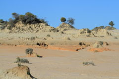 Mungo National Park. UNESCO World Heritage Site, NSW, Australia Stock Photo