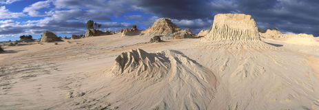 Mungo National Park. In the west of NSW, Australia Stock Image