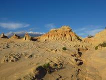 Mungo park narodowy, NSW, Australia Fotografia Stock