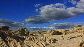 Mungo park narodowy, NSW, Australia Zdjęcia Stock