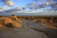 Mungo park narodowy, NSW, Australia Zdjęcie Stock