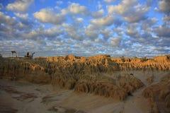Mungo park narodowy, NSW, Australia Obraz Stock