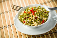 Mungo Salad. Is healthy diet Royalty Free Stock Image