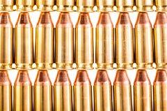 Munição arranjada do revólver Imagem de Stock