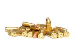 Munição da arma de fogo Foto de Stock