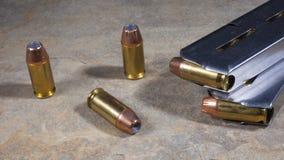 Munição da pistola Fotografia de Stock Royalty Free