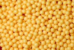 Munição de esferas amarela de Airsoft Foto de Stock Royalty Free