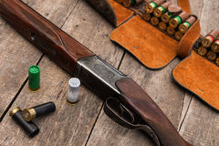A munição do caçador Foto de Stock Royalty Free