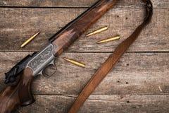 A munição do caçador Fotos de Stock Royalty Free