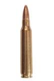 munição do rifle do calibre de 5.56mm Foto de Stock