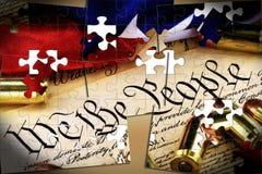 Munição na constituição dos E ilustração royalty free