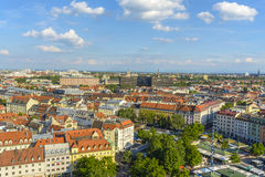 Munich from above Stock Photo