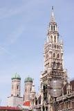 Munich abstrakt begrepp Arkivbild