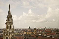 Munich Aerial Stock Photography