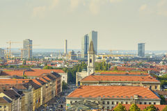 Munich, aerial view Royalty Free Stock Photo