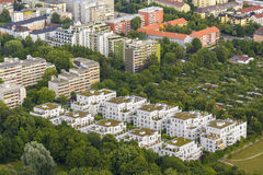 Munich aerial view Royalty Free Stock Image
