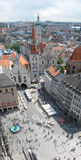 Munich. Aerial view of old town of Munich, Germany stock photography