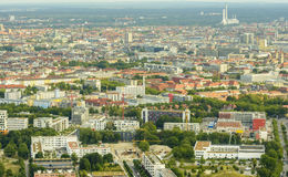 Munich aerial view Stock Image
