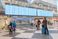 Munich airport Stock Photography