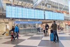 Munich airport Stock Photography