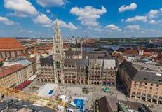 Munich, Alemanha - uma cidade velha do patrimônio mundial do Unesco foto de stock royalty free