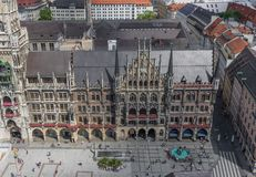 Munich, Alemanha - uma cidade velha do patrimônio mundial do Unesco imagem de stock royalty free