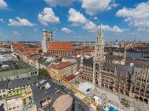 Munich, Alemanha - uma cidade velha do patrimônio mundial do Unesco imagens de stock