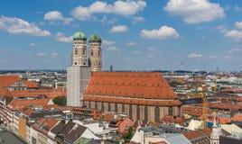 Munich, Alemanha - uma cidade velha do patrimônio mundial do Unesco fotografia de stock royalty free