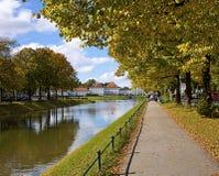Munich, Alemania - castillo de Nymphenburg Foto de archivo