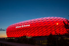 Munich Alianz Arena Stadium Royalty Free Stock Images