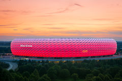 Munich Alianz Arena Stadium Royalty Free Stock Photos