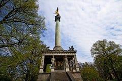 Munich, Allemagne - ange de monument de paix image libre de droits